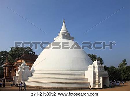 Stock Photo of Sri Lanka; Colombo, Kelaniya Raja Maha Vihara.