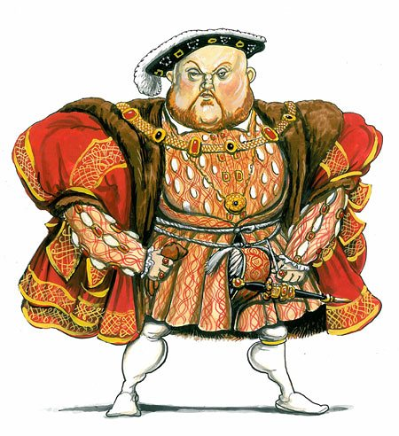 Showing post & media for Henry viii cartoon.