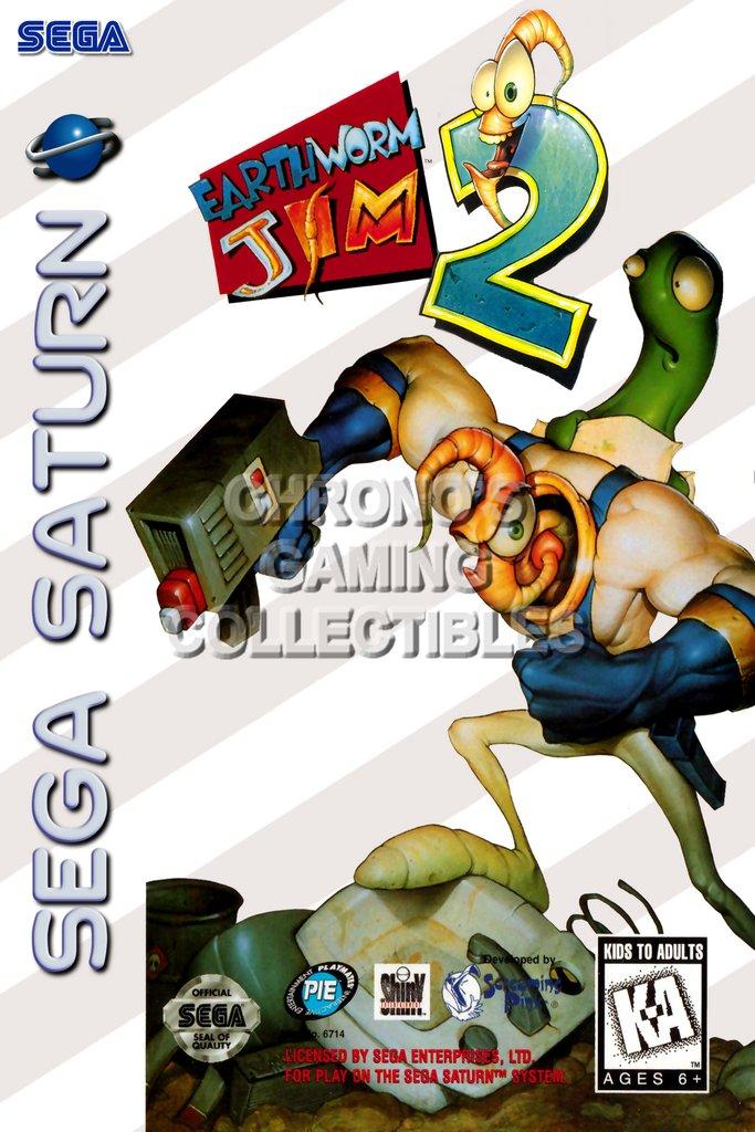 Sega Saturn.