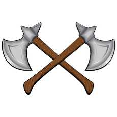 viking axe clipart free vectors.