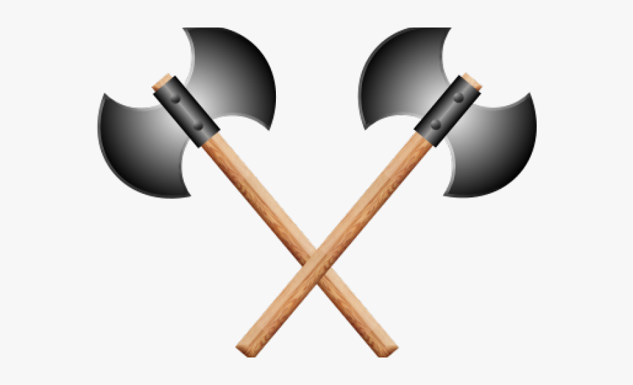 Viking Battle Axe Clipart #2644353.