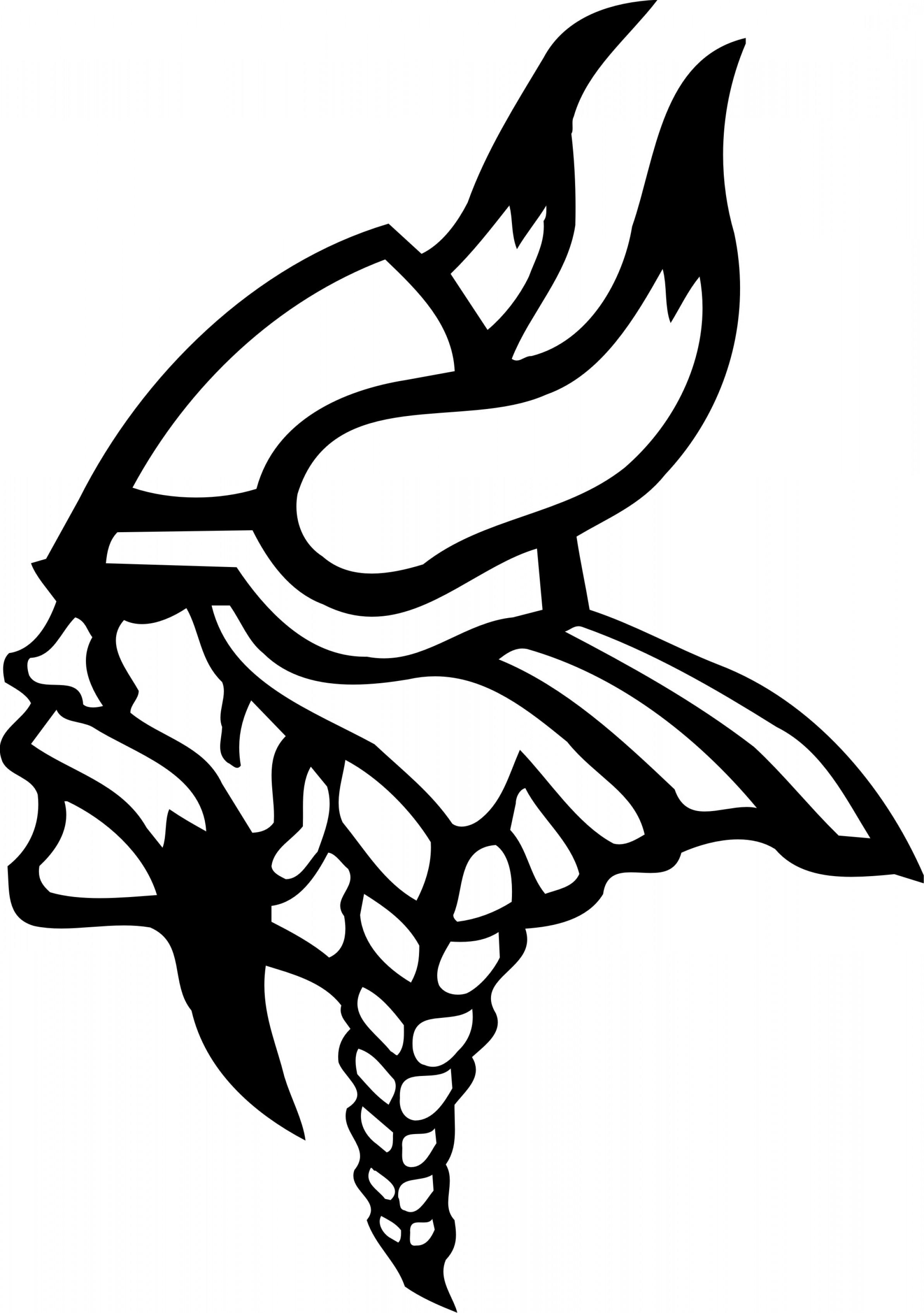 Viking Clipart Black And White.