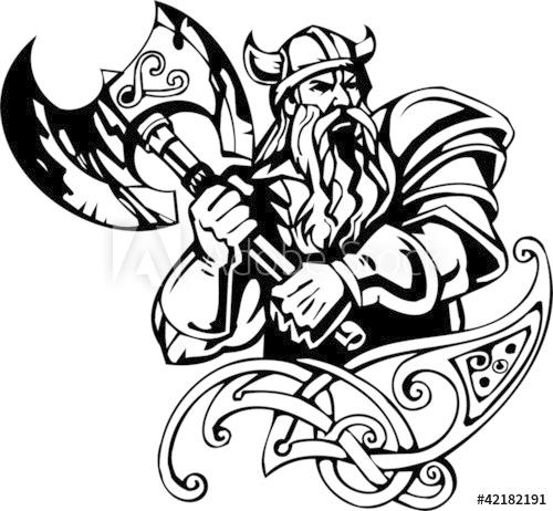 Nordic viking.