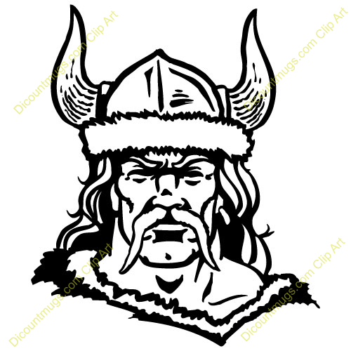 Female Viking Clipart.