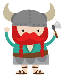 Viking Clipart Set.
