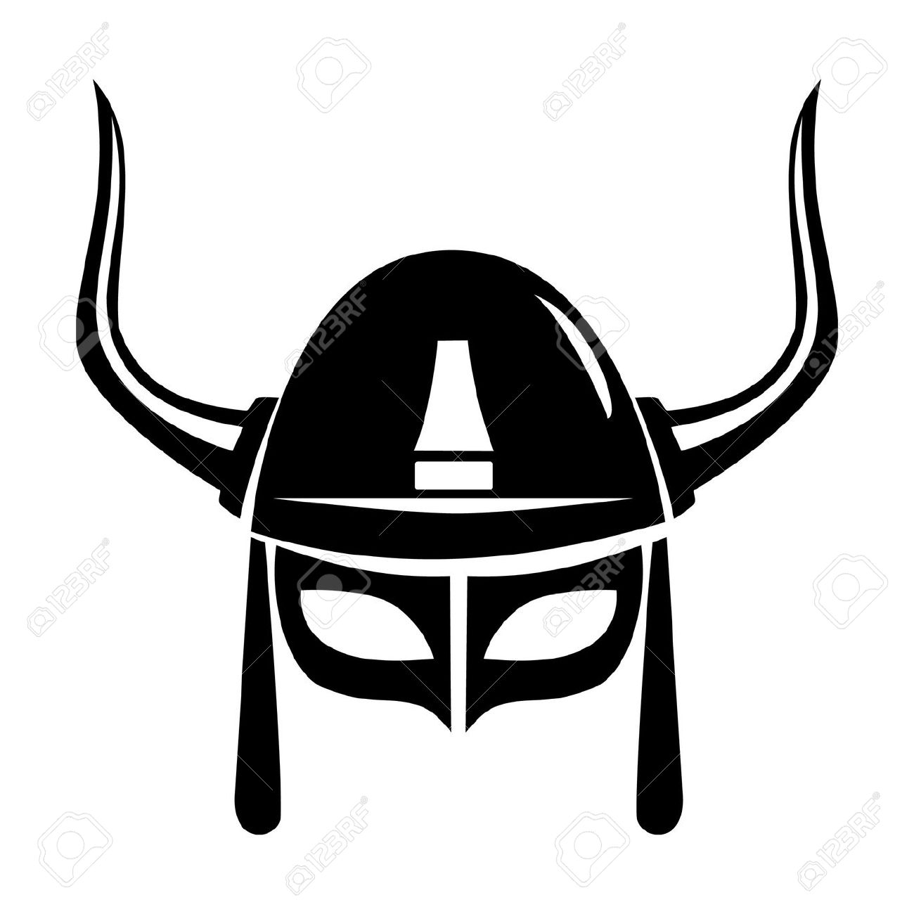 Showing post & media for Viking warrior helmet symbol.