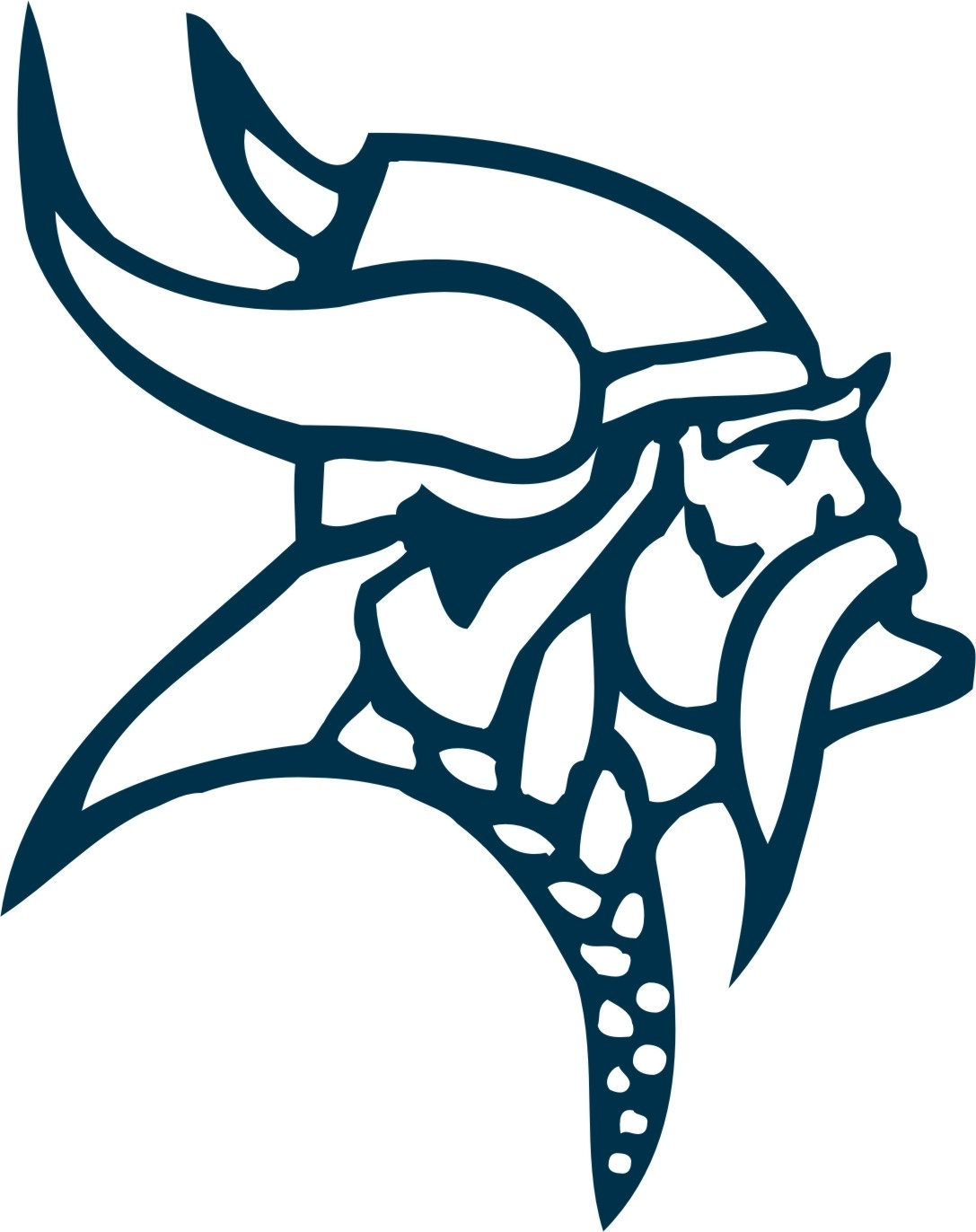NFL Symbol Minnesota Vikings Clipart.