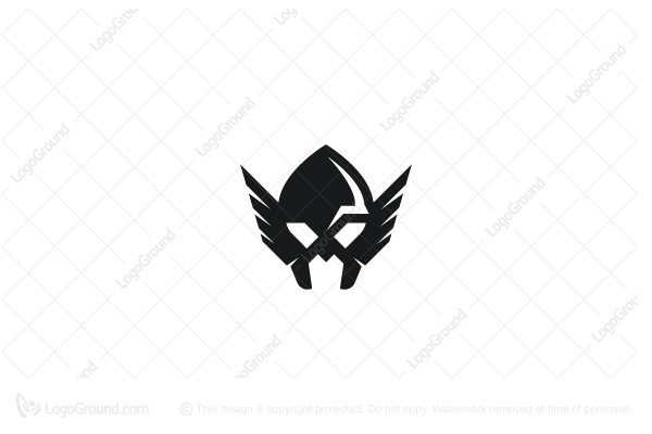 Exclusive Logo 181101, Viking Helmet Logo.