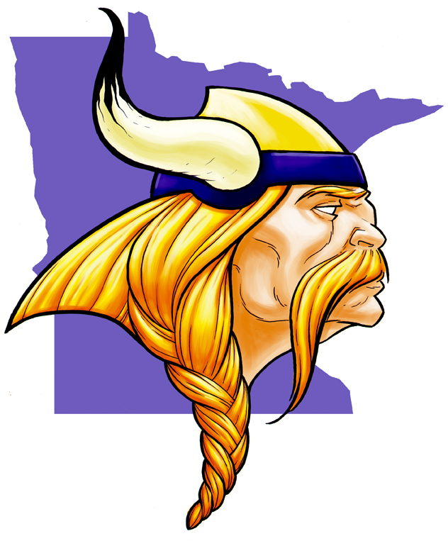 Vikings Logo by monstrous64 on Clipart library.