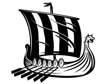 Viking Ship Clipart.