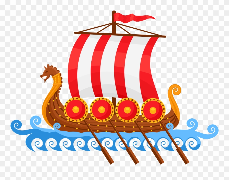 Viking Ship Freebie.