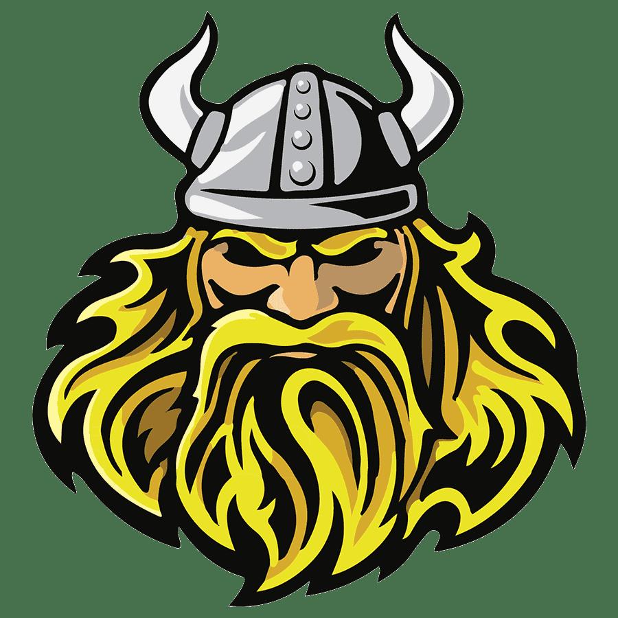 Viking Head transparent PNG.
