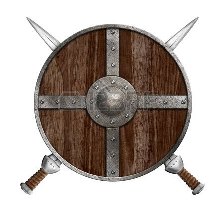 1,707 Viking Shield Stock Vector Illustration And Royalty Free.