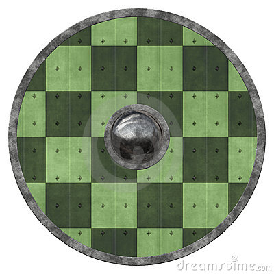 Viking Shield Stock Photo.
