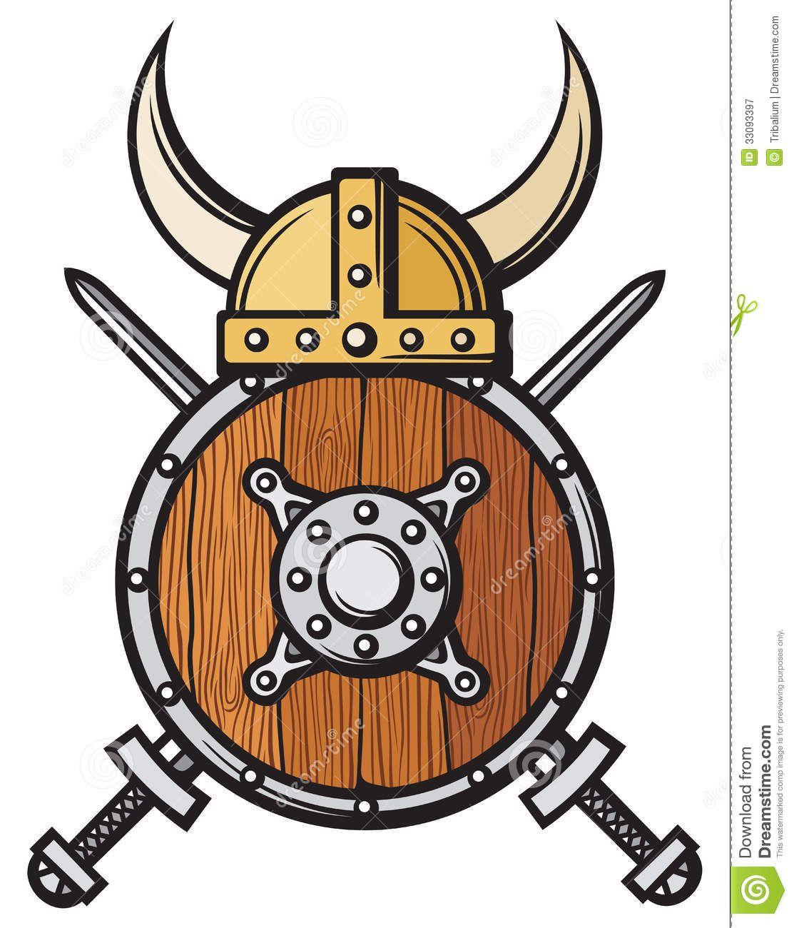 Viking Helmet Royalty Free Stock Photography.