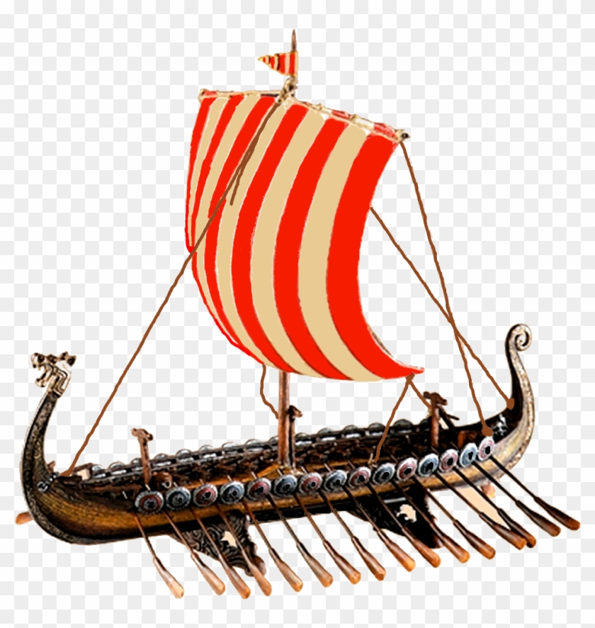 Viking Ship Clipart Transparent.