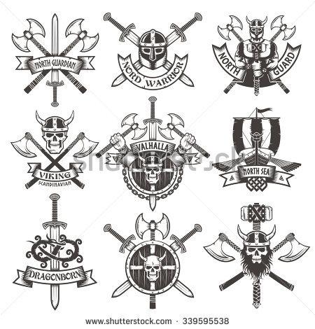Viking Stock Images, Royalty.