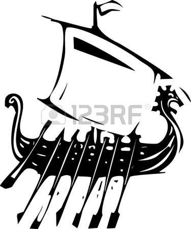 682 Viking Boat Stock Vector Illustration And Royalty Free Viking.