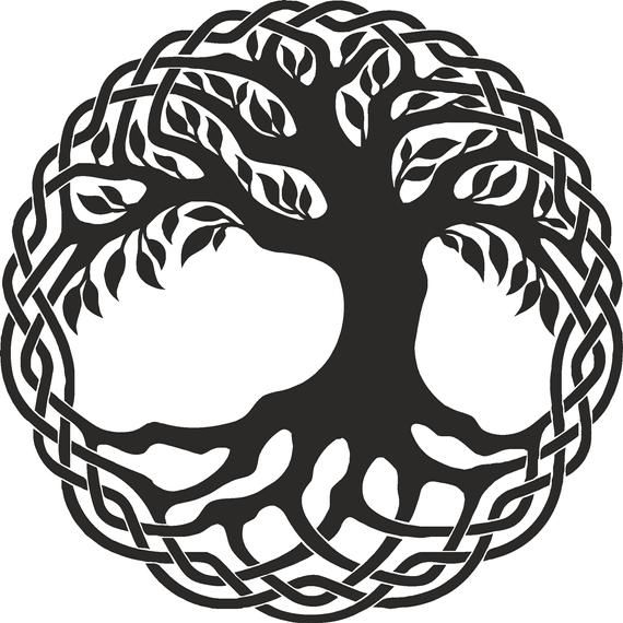 71 files SVG trees, vector files, files for laser engraving.