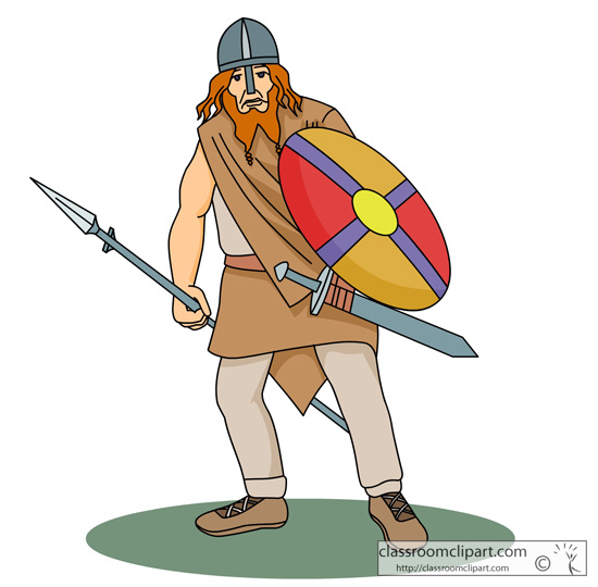 Vikings clipart 2.