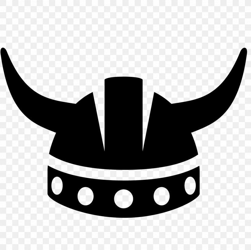 Black & White Viking Helmet Clip Art, PNG, 1600x1600px.