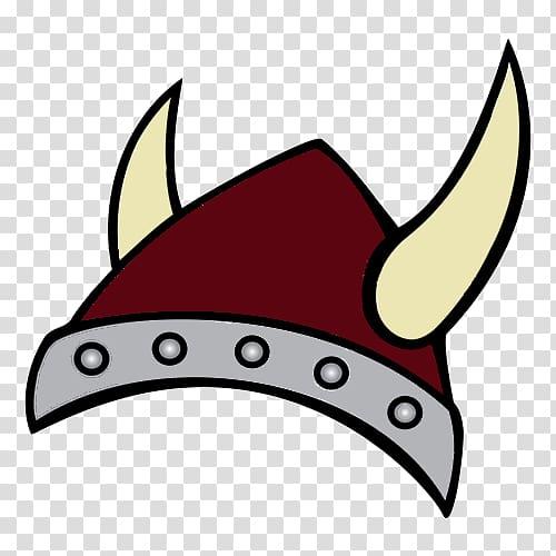 Viking Age Cartoon Horned helmet , Vikings transparent.