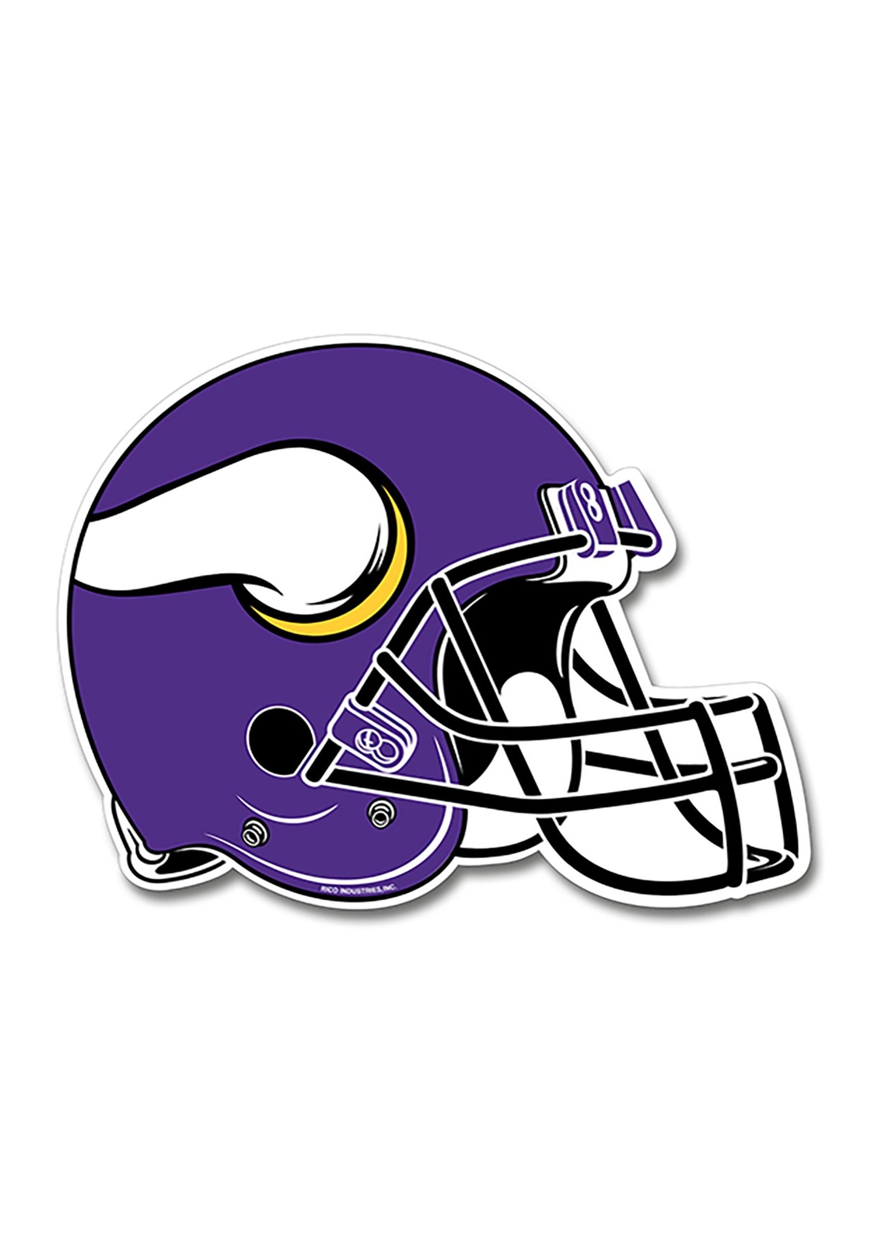 NFL Minnesota Vikings Die Cut Helmet Pennant.