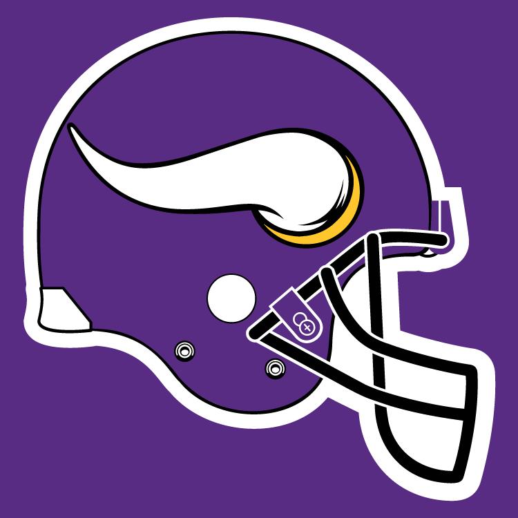 Vikings helmet Logos.