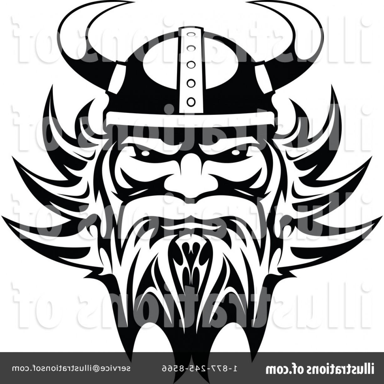 Royalty Free Viking Clipart Illustration.