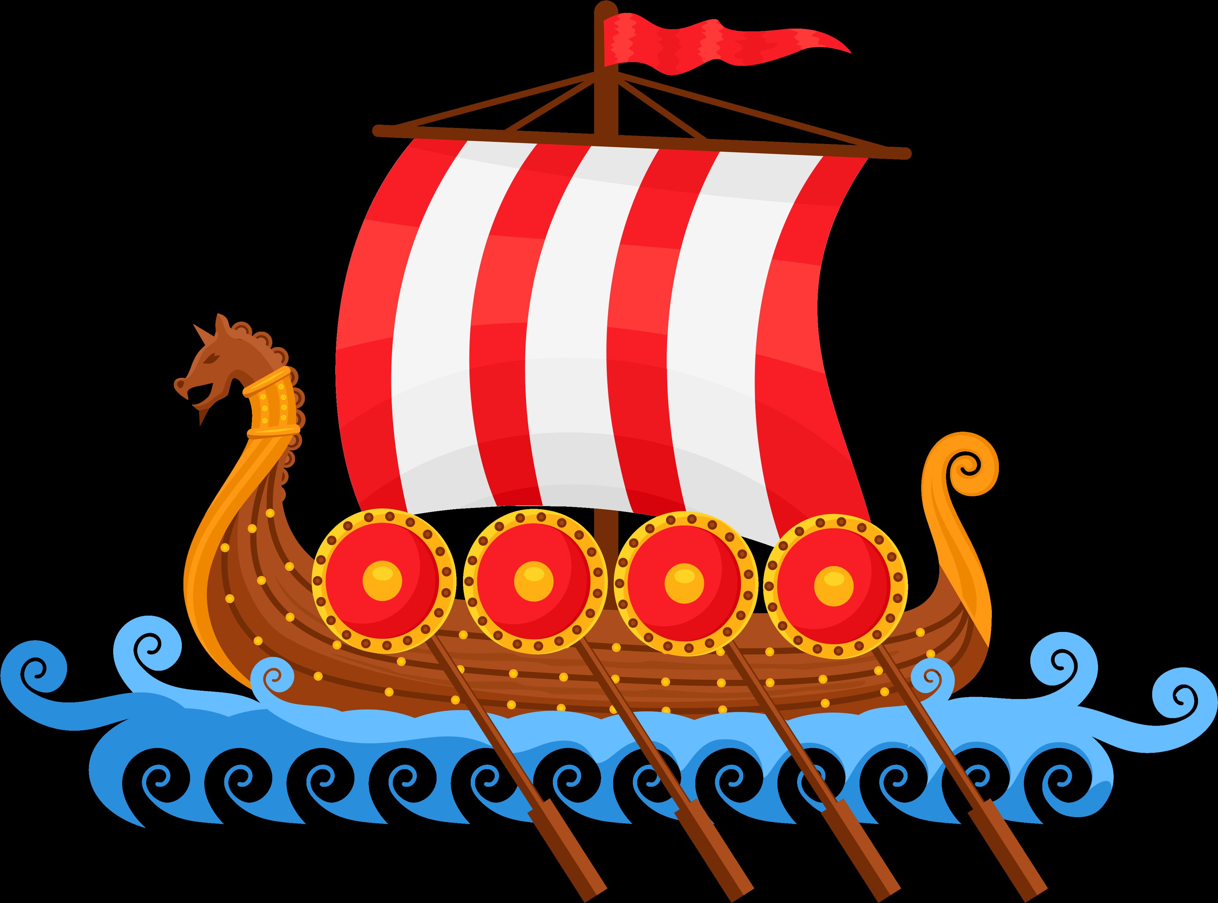 Viking Ship Freebie.