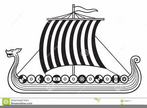 1226 Viking free clipart.