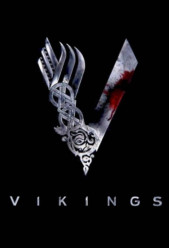 Vikings tv show Logos.