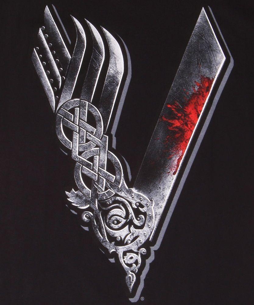 Vikings TV Show Logo.