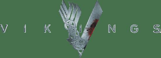 Vikings Tv Series Logo transparent PNG.