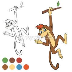 Monkey, Illustrations and Monkey business on Pinterest.