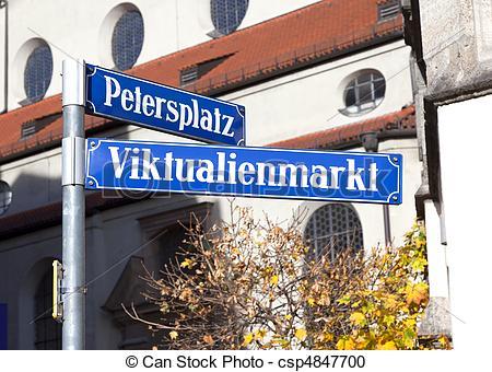 Stock Fotografie von Viktualienmarkt.