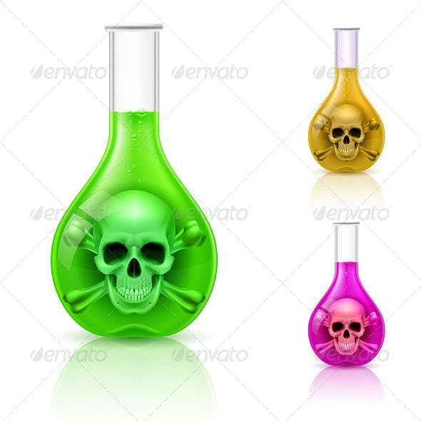 Vial Poison Graphics, Designs & Templates from GraphicRiver.