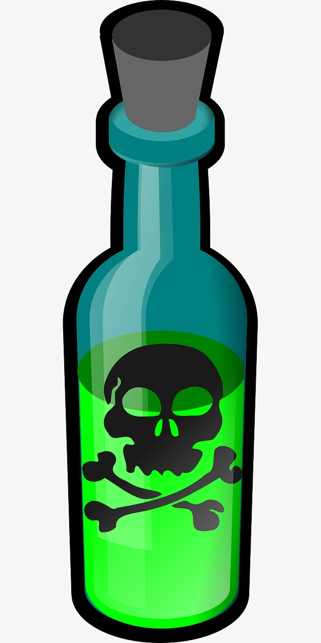 802 Poison free clipart.