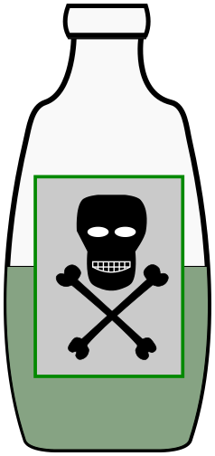 Poison clipart poison vial, Poison poison vial Transparent.