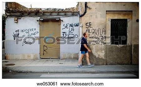 Stock Photography of La Vileta, Palma de Mallorca. Majorca.