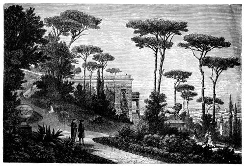 Villa Borghese Clip Art, Vector Images & Illustrations.