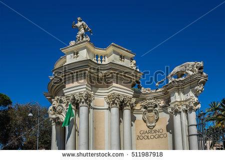 Villa Borghese Rome Stock Photos, Royalty.