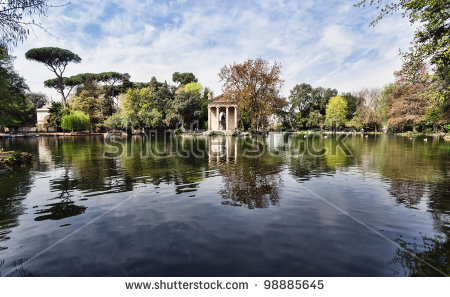 Villa Borghese Stock Photos, Royalty.
