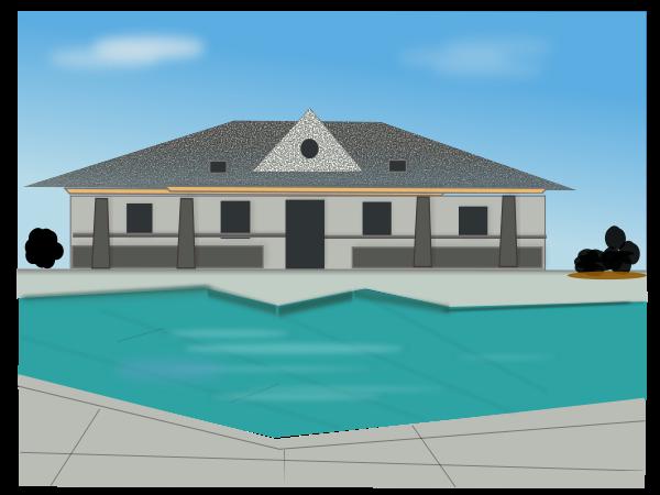 Villas Clipart.