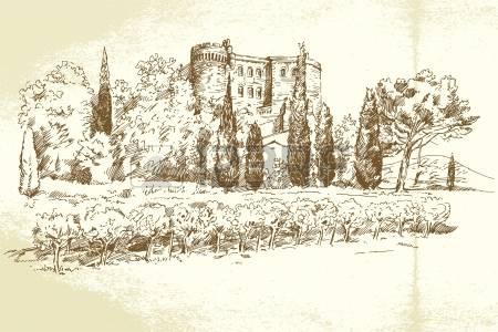 609 Decoration Villa Stock Illustrations, Cliparts And Royalty.