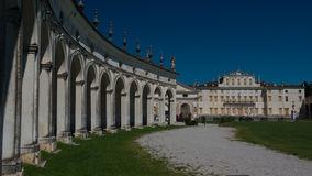Villa Manin In Passariano, Friuli Venezia Giulia Stock Photo.