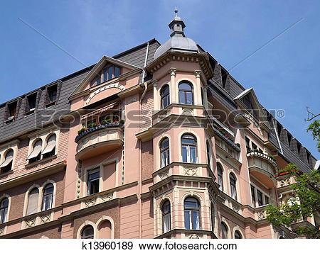 Stock Photograph of Old villa Graz k13960189.