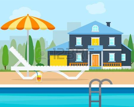 4,348 House Villa Stock Vector Illustration And Royalty Free House.