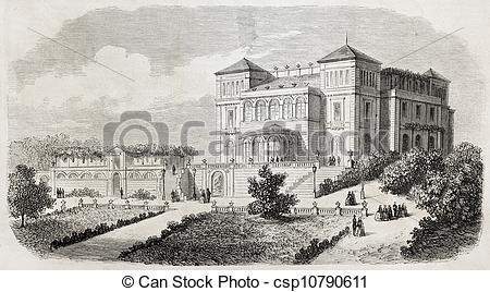 Clipart of Villa of the Prince Royal.