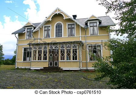 Stock Photography of Old villa.